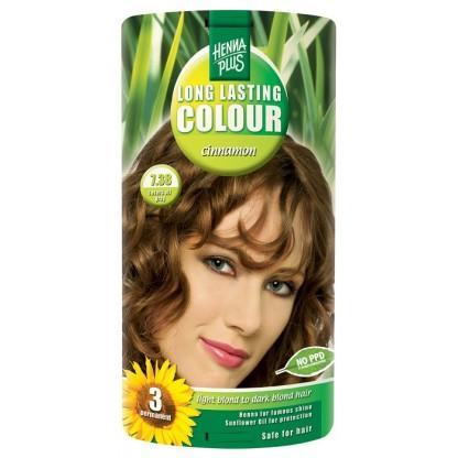 Vopsea de par Long Lasting Colour Cinnamon 7.38 HennaPlus