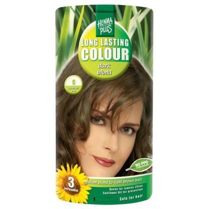 Vopsea de par Long Lasting Colour Dark Blonde 7 HennaPlus