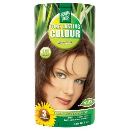 Vopsea de par Long Lasting Colour Hazelnut 6.35 HennaPlus