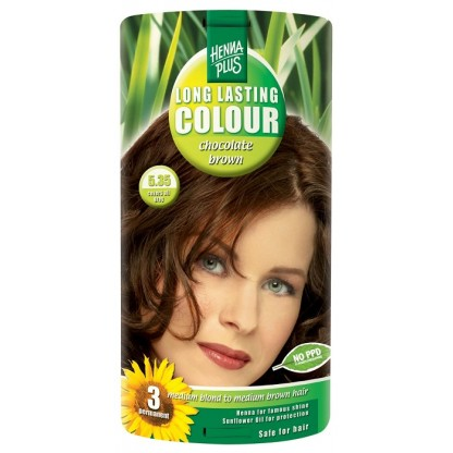 Vopsea de par Long Lasting Colour Chocolate Brown 5.35 HennaPlus