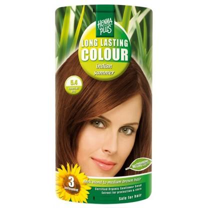 Vopsea de par Long Lasting Colour Indian Summer 5.4 HennaPlus