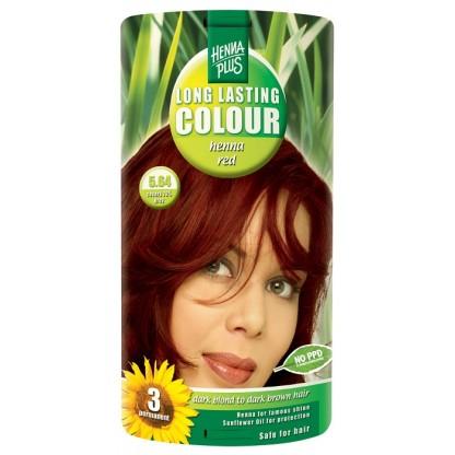 Vopsea de par Long Lasting Colour Henna Red 5.64 HennaPlus