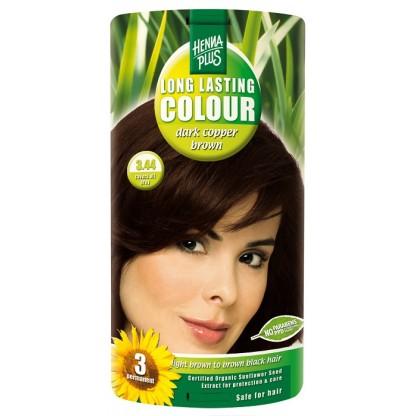 Vopsea de par Long Lasting Colour Cooper Brown 3.44 HennaPlus