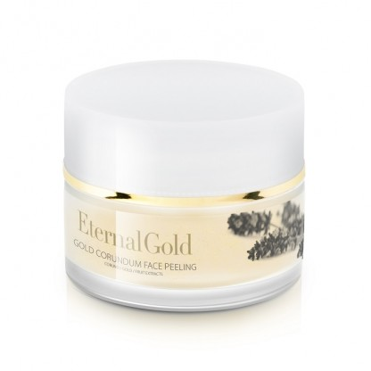 Exfoliant facial cu aur si corundum Eternal Gold Organique 50ml