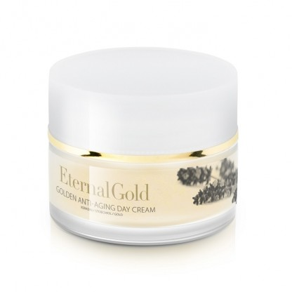 Crema de zi antirid cu aur Eternal Gold Organique 50ml