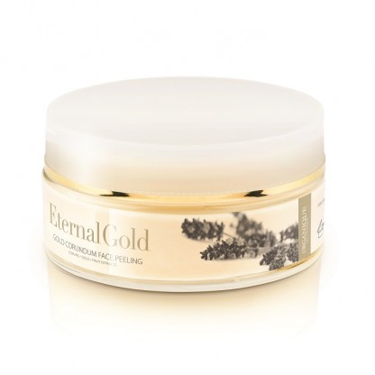 Exfoliant facial cu aur si corundum Eternal Gold Organique 180ml