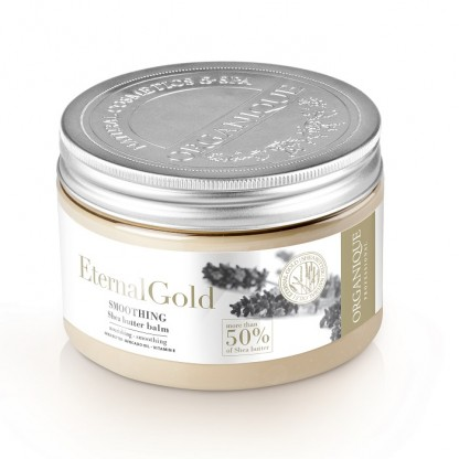 Balsam de corp cu aur si unt de shea Eternal Gold Organique 450ml