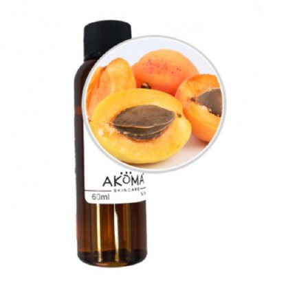 Ulei din samburi de caise certificat organic 60 ml Akoma Skincare