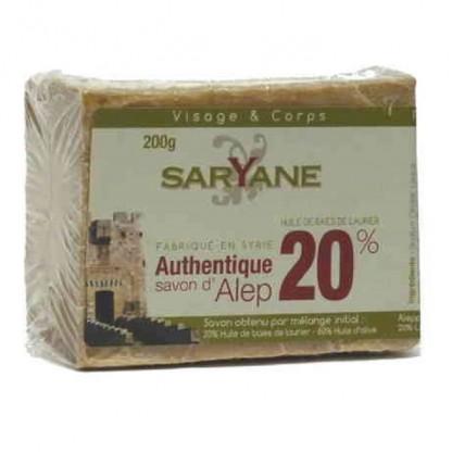 Sapun Alep 20% ulei de dafin 200g Saryane
