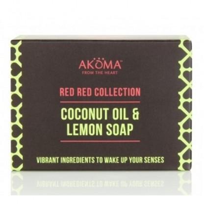 Sapun cu unt de shea, cocos, ulei de palmier si lemongrass Akoma Skincare 110g
