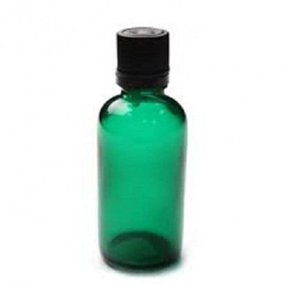 Sticla pentru uleiuri PET verde Akoma Skincare 100ml