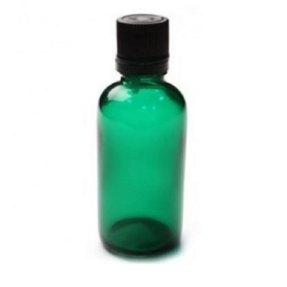 Sticla pentru uleiuri PET verde Akoma Skincare 50ml