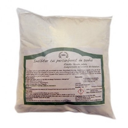 Inalbitor percarbonat de sodiu 1 kg (pe baza de oxigen activ)