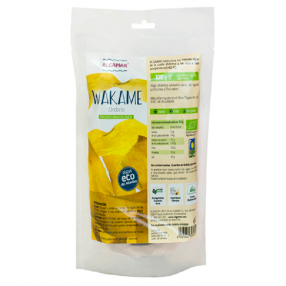 Alge Atlantic Wakame Raw BIO 100g Algamar