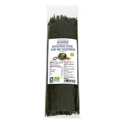 Spaghete integrale cu alge marine BIO 250g Algamar