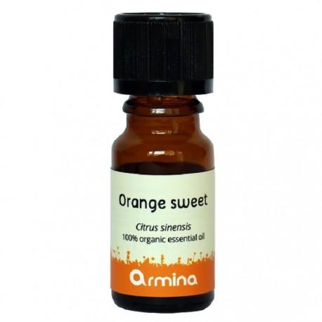 Ulei esential de portocala dulce (citrus sinensis) BIO 10ml Armina