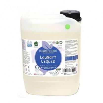 Detergent ecologic lichid pentru rufe albe si colorate lamaie 20L Biolu