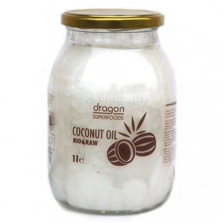 Ulei de cocos Virgin BIO 1 litru Dragon Superfood