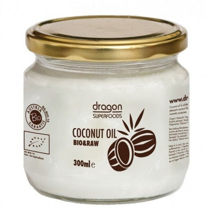 Ulei de cocos virgin BIO Raw 300ml Dragon Superfood