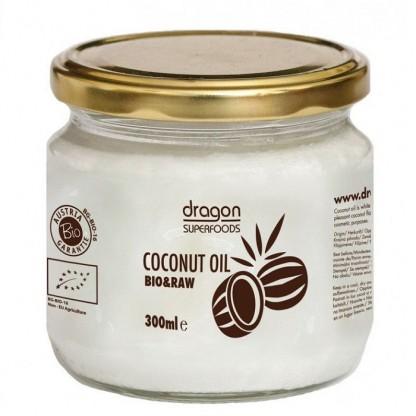 Ulei de cocos virgin BIO Raw 300ml Dragon Superfood