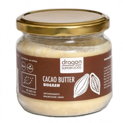 Unt de cacao Raw BIO 100g Dragon Superfoods