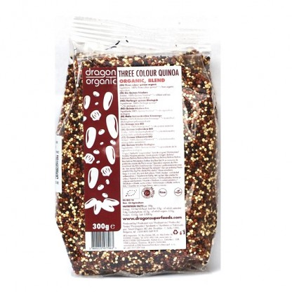 Quinoa tricolora BIO 300g Dragon Superfood