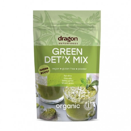 Green Detox Mix Raw Bio 200g Dragon Superfood