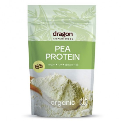 Pudra proteica din mazare BIO 200g Dragon Superfood