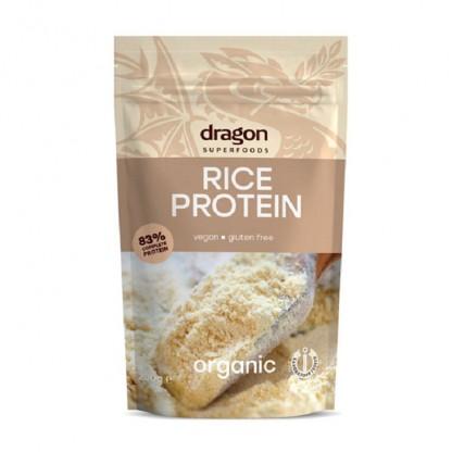 Pudra proteica din orez BIO 200g Dragon Superfood