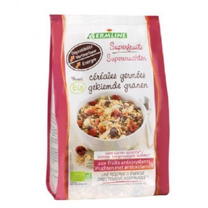 Musli din cereale germinate cu superfructe BIO 350g Germline