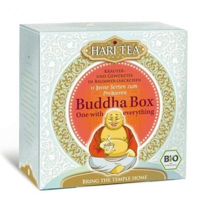 Ceai premium Budha Box cutie cu toate cele 11 ceaiuri Hari Tea BIO