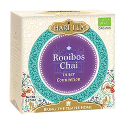Ceai premium Inner Connection: rooibos chai BIO 10 plicuri Hari Tea