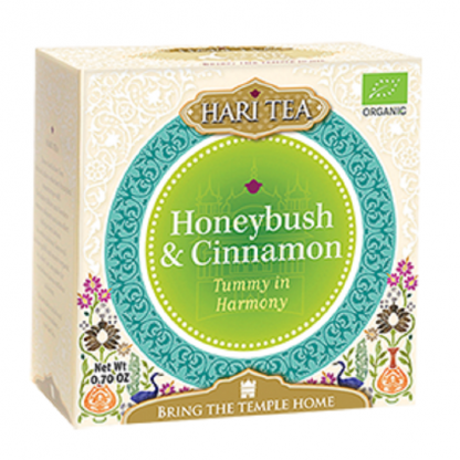 Ceai premium Tummy in Harmony: honeybush si scortisoara BIO 10 plicuri Hari Tea