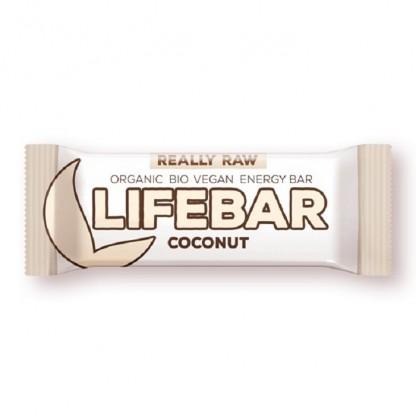 Lifebar baton cu nuca de cocos raw bio 47g Lifefood