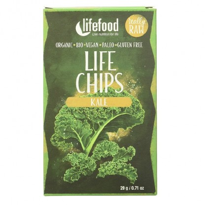 Life Chips din kale raw BIO Lifefood 20g