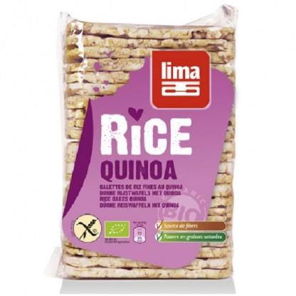Rondele de orez expandat cu quinoa BIO 130g Lima