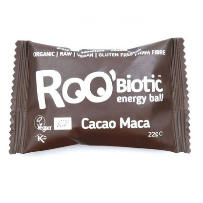 ROObiotic energy ball cacao si maca bio 22g Dragon Superfoods