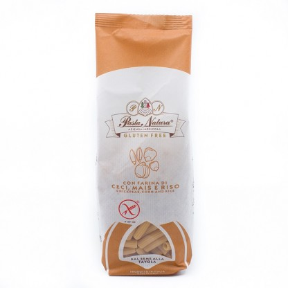 Paste maccheroni cu naut BIO fara gluten 250g Pasta Natura