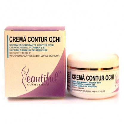 Crema contur ochi Antioxivita 50ml Beautiful Cosmetics Phenalex