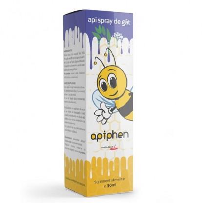 Apiphen api spray de gat pentru copii si adulti 30ml Phenalex