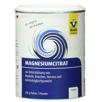 Citrat de magneziu pudra naturala 200g Raab Vitalfood