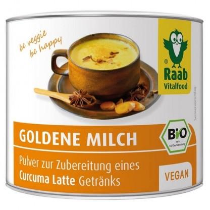 Golden Milk BIO bautura instant cu turmeric 70g Raab Vitalfood