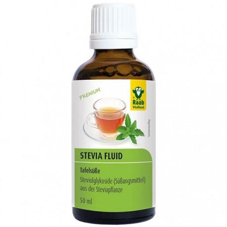 Stevia indulcitor lichid premium 50ml Raab Vitalfood