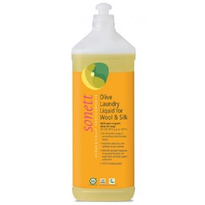 Detergent ecologic lichid pt. lana si matase 1L Sonett
