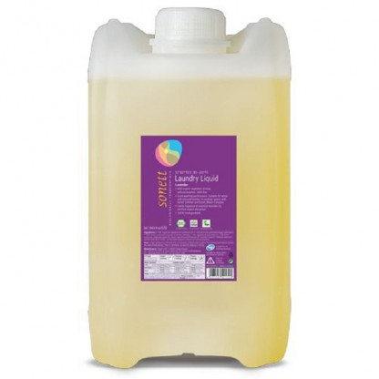 Detergent BIO lichid pt rufe albe si colorate cu lavanda 20L Sonett