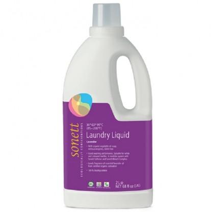Detergent ecologic lichid pt. rufe albe si colorate cu lavanda 2L Sonett