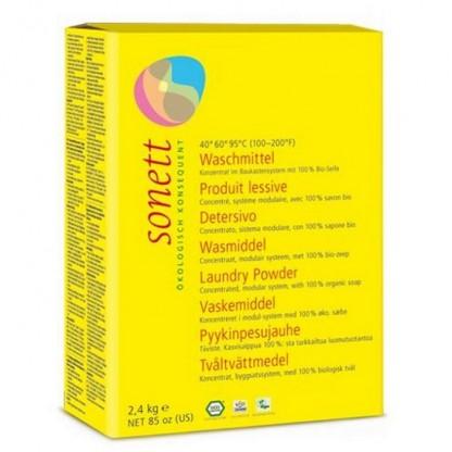 Detergent BIO pudra pt rufe 2.4 kg Sonett