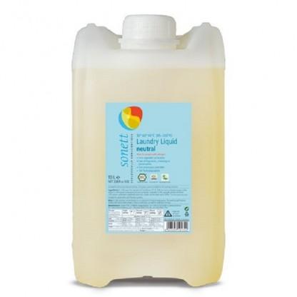 Detergent BIO fara parfum Neutru pt rufe albe si colorate 10L Sonett
