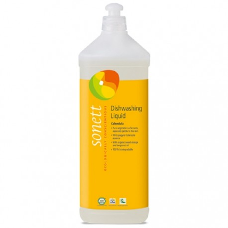 Detergent ecologic pt. spalat vase cu galbenele 1L Sonett