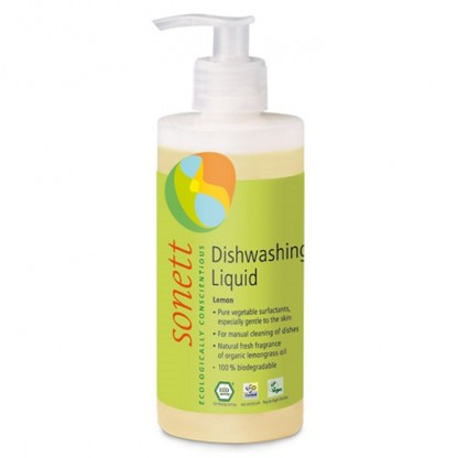 Detergent ecologic pt. spalat vase cu lamaie 300ml Sonett